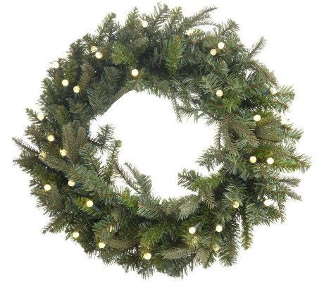 bethlehemlights batteryoperated 26 pre lit wreath with