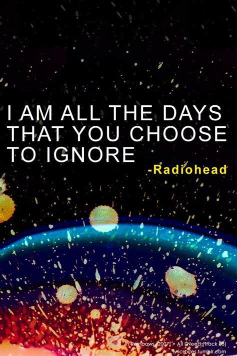 All I Need Radiohead Lyrics