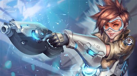 Animated Overwatch Wallpaper - tracer overwatch wallpapers hd wallpapers id 17039
