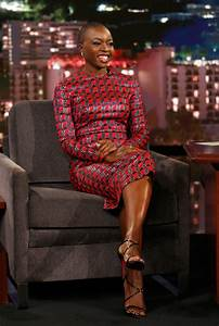 QuotBlack Pantherquot Star Danai Gurira Makes The Simple Look
