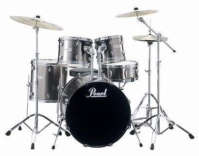 Drum Pearl Kit Piece Chrome Smokey Zzounds