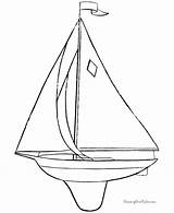 Sailboat Coloring Boat Printable Sail Template Boats Sheets Raisingourkids Toy Printing sketch template
