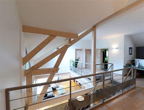 plan de maison en l avec 4 chambres maison d 39 architecte bois avec charpente apparente nos