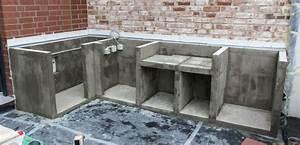 Küchen Selber Bauen : projekt outdoork che teil 2 die grundmauern werden ~ Watch28wear.com Haus und Dekorationen