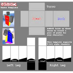 Roblox Pants Template