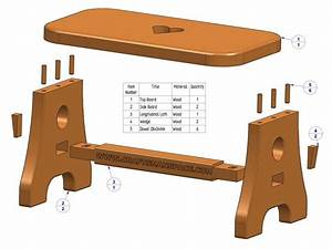 Woodworking Diy footstool plans Plans PDF Download Free