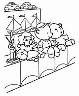 Coloring Pages Toys Toy Sales Drawing Getdrawings sketch template