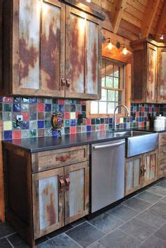 how to set kitchen cabinets family room rustic design ideas pictures remodel and 7358