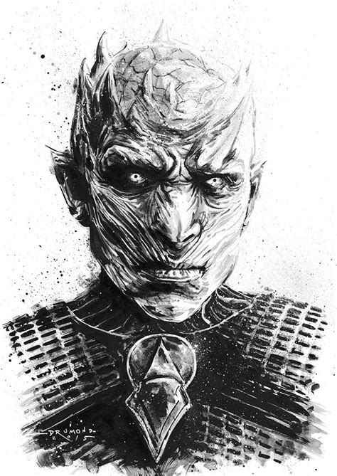 Striking Game of Thrones illustrations by Drumond Art | Game of thrones drawings, Game of