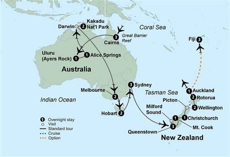 australia  zealand nagel tours