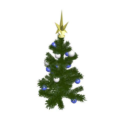 kleiner weihnachtsbaum einrichten planen in 3d