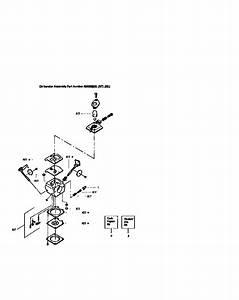 Craftsman Blower Carburetor Parts