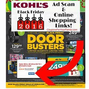 Black Friday Online Shops : kohls black friday ad 2016 released full ad online shopping links ~ Watch28wear.com Haus und Dekorationen