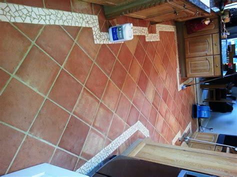 terracotta kitchen tiles terracotta kitchen floor cleaned and sealed in horncastle 2699