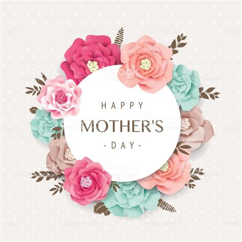 Happy Mothers Day Stock Vector Art & More Images Of