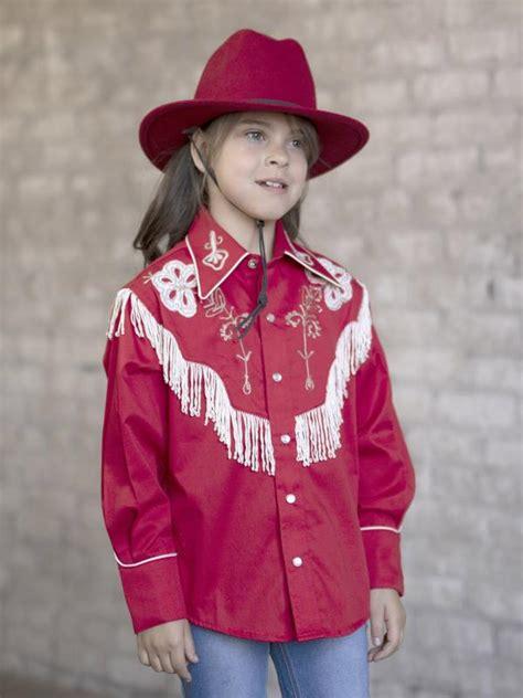 rockmount ranch wear childrens vintage western shirt