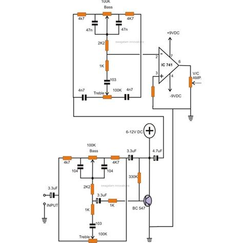 How Make Tone Controls For Stereo Amplifier
