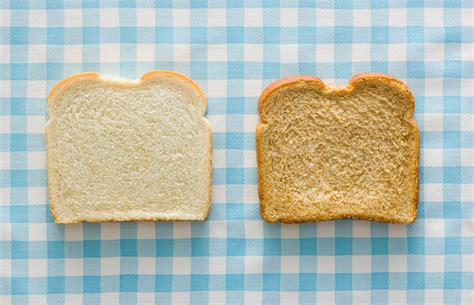 Why Can White Bread Contain Fewer Calories Than Brown