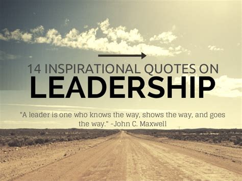 inspirational quotes  leadership