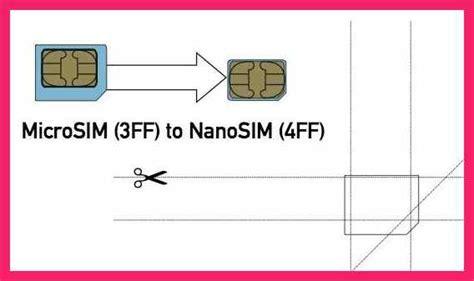 Micro Sim To Nano Sim Template Micro To Nano Sim Template Bio Letter Format