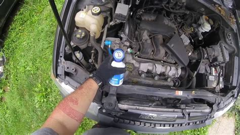 automotive air conditioning repair 2009 ford edge transmission control ford escape ac fix youtube