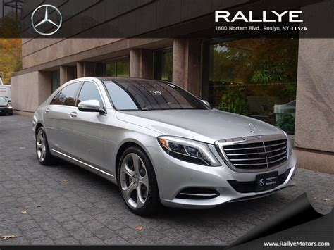 Check out our inventory right at home! Certified Pre-Owned 2015 Mercedes-Benz S-Class S550 SEDAN in Roslyn #26859   Rallye Motors