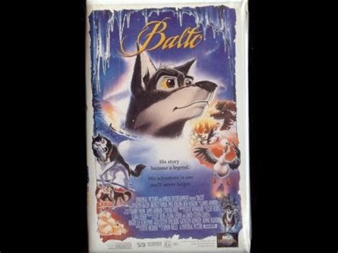 Opening To Balto 1996 Vhs Youtube
