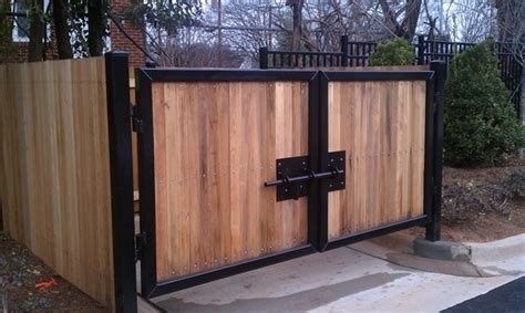dumpster enclosure gates fences seegars fence company
