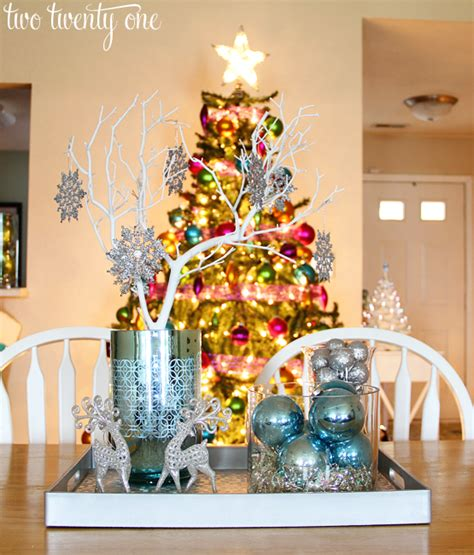 decorate  tables    diy christmas centerpieces