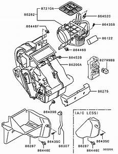 Heater Unit  U0026 Piping For 1998