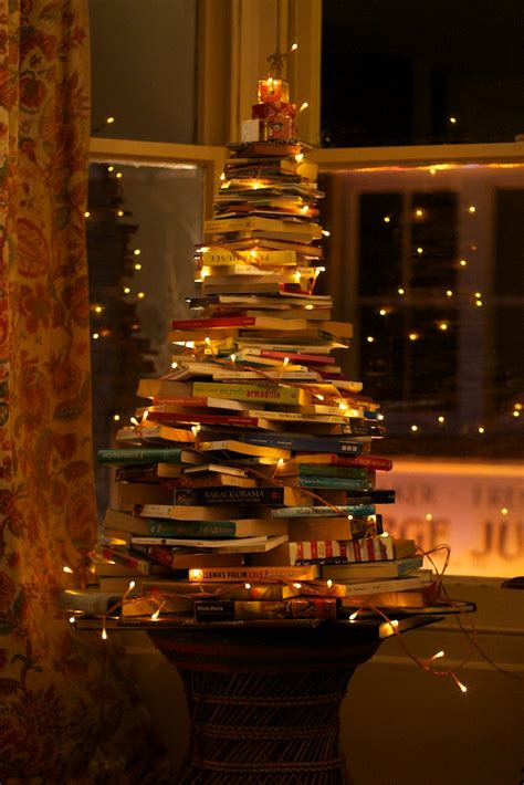 book trees on pinterest book tree book christmas tree
