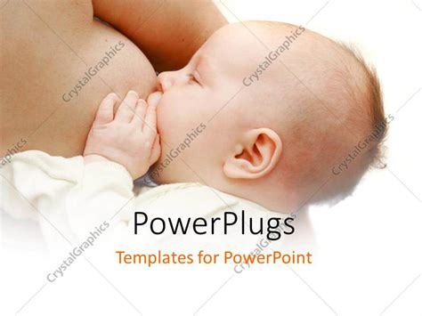 powerpoint template  baby feeding  mothers