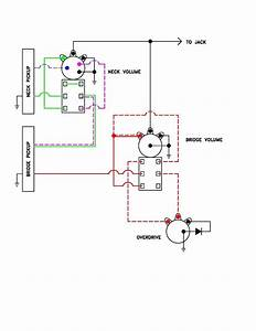 Passive Overdrive Circuit Wiring Diagram For J