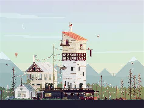 house dribbble illustration animatic paint