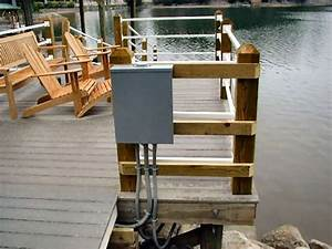 Dock Wiring  Pier Wiring And Lighting Electrical Wiring