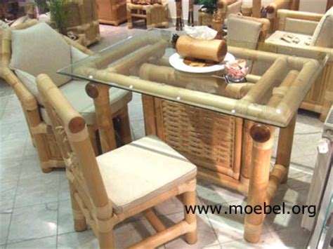 wohnzimmermöbel weiß holz bambusm 246 bel m 246 bel f 252 r den wintergarten aus bambus