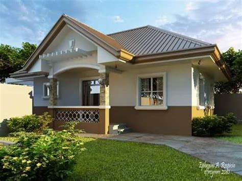 small beautiful  cute bungalow house design ideal  philippines small house