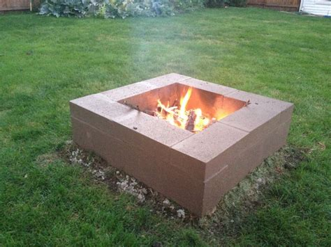 Awesome Cinder Block Fire Pit Ideas