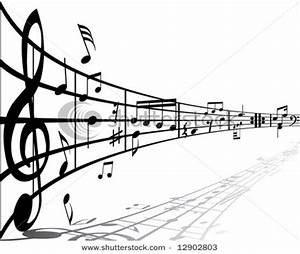Music Notes On Staff Clipart | Clipart Panda - Free ...