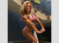 Female bodybuilder arrested 'for attacking her boyfriend