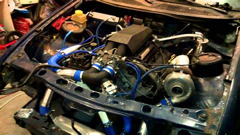 ford sierra    bob cosworth turbo startup youtube