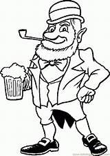 Leprechaun Coloring Beer Patrick Printable Patricks Leprechauns Clipart Saint Sheets Clip Colouring Cliparts Boys Shamrocks Popular Coloringhome Library Favorites sketch template