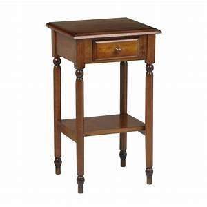 Knob, Hill, Tall, Side, Table, Antique, Cherry, -, Walmart, Com
