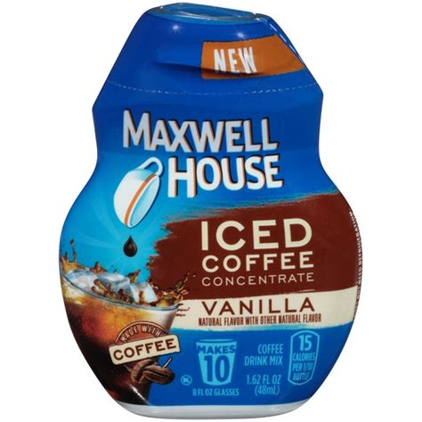 Get it as soon as fri, may 14. Maxwell House Vanilla Iced Coffee Concentrate From Kroger ...
