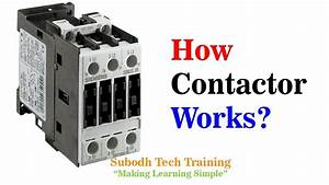 How Contactor Works  - Inside View And Explanation