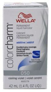 wella color charm 050 2 pack wella color charm liquid 050 cooling violet ebay