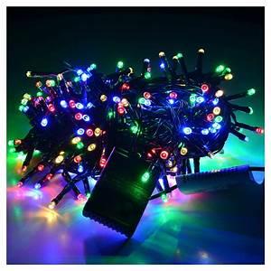 Guirlande Lumineuse Led Exterieur : guirlande lumineuse no l 300 led multicolore int rieur ~ Melissatoandfro.com Idées de Décoration