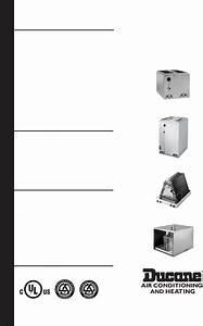 Ducane  Hvac  Air Conditioner Ec1p User Guide