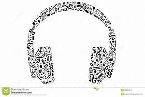 Headphones stock vector. Illustration of vector ...