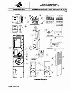 Dgah077bbsa Coleman Gas Furnace Parts  U2013 Hvacpartstore